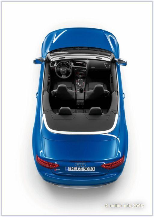 Автомобили Ауди. Audi S5 Cabrio