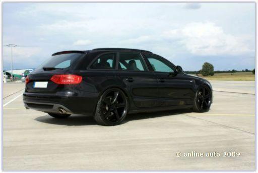 Автомобили Ауди. Audi A4 avant Black Arrow