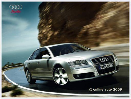 Автомобиль Audi. Седан A8